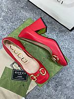 Кожаные туфли Гуччи (реплика)