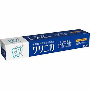 Lion Clinica mild mint высокоэффективная  зубная паста со фтором и TDS, горизонтальная 130 гр