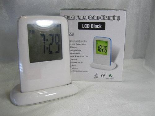 Часы будильник - LCD Color Clock 1227 AVE