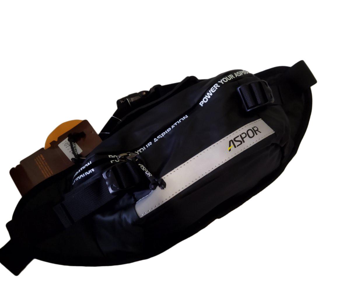 Рюкзак-сумка Aspor черный
