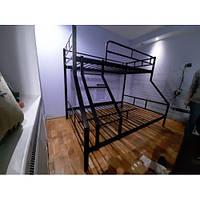 Металлическая двухъярусная кровать Dominica Lavito 200(190)х140/80(90)см