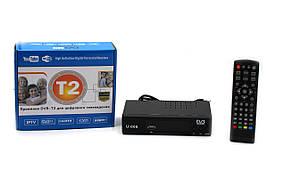 Тюнер DVB-T2 (BEKO 006) METAL с поддержкой wifi адаптера (с экраном)