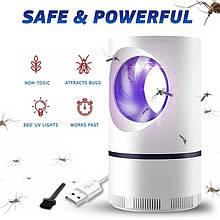 Лампа от комаров, Низковольтная лампа-убийца от комаров USB UV электрическая, Летающий мугген AVE