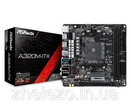 Материнская плата ASRock A320M-ITX Socket AM4, фото 2