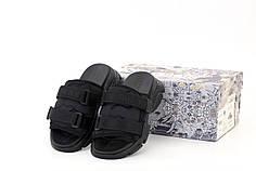 Женские босоножки сандали Dior D-Wander Slide. Черные