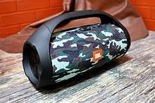 Колонка JBL BOOMBOX MINI E10 с USB, SD, FM, Bluetooth, 2-динамиками, хорошая реплика JBL КАМУФЛЯЖ AVE