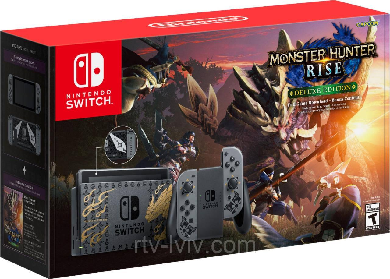 Приставка (консоль) Nintendo Switch Monster Hunter: Rise Edition