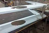 Полка 2 х ур. 1200х300х360 из 201 нержавеющей стали, фото 10