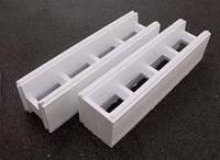 Термоблок из пенопласта для строительства зданий бассейнов. Торцевой/рядовой. Термодом