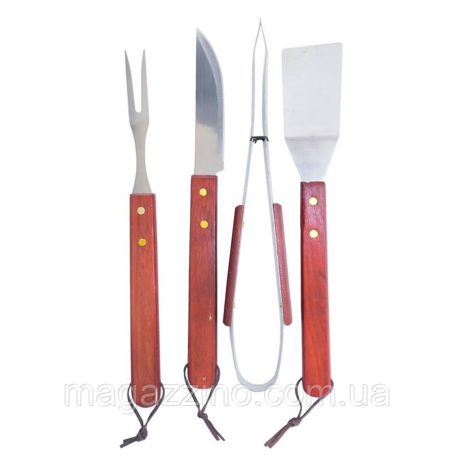 Набір приладів для гриля і барбекю, 4 предмета