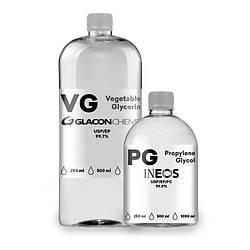 Набір для бази (Organic) - 250 мл 80/20, 0 мг/мл