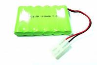 Аккумулятор никель-кадмиевый: 7,2 Вольт, 1000 мАч, широкий диапазон рабочих температур