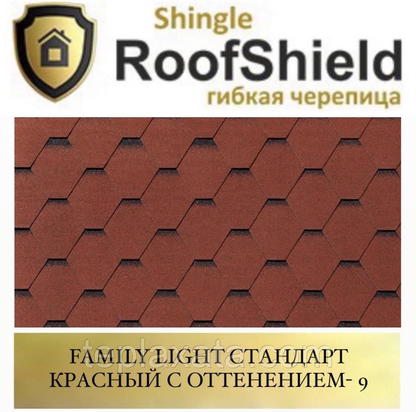 ROOFSHIELD Фемили Стандарт 9 Красный с оттенением