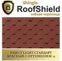 ROOFSHIELD Фемили Стандарт 9 Красный с оттенением, фото 1