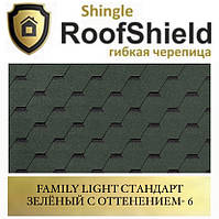 ROOFSHIELD Фемили Стандарт 6 Зелёный с оттенением, фото 1