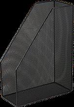 Лоток для паперів вертикальний, металевий, чорний BM.6260-01