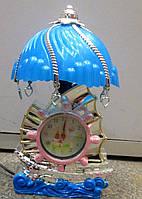 Настольный светильник с часами Кораблик