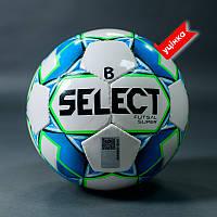 Мяч футзальный SELECT FUTSAL SUPER FIFA B-gr (без лого FIFA), (250) бело/синий