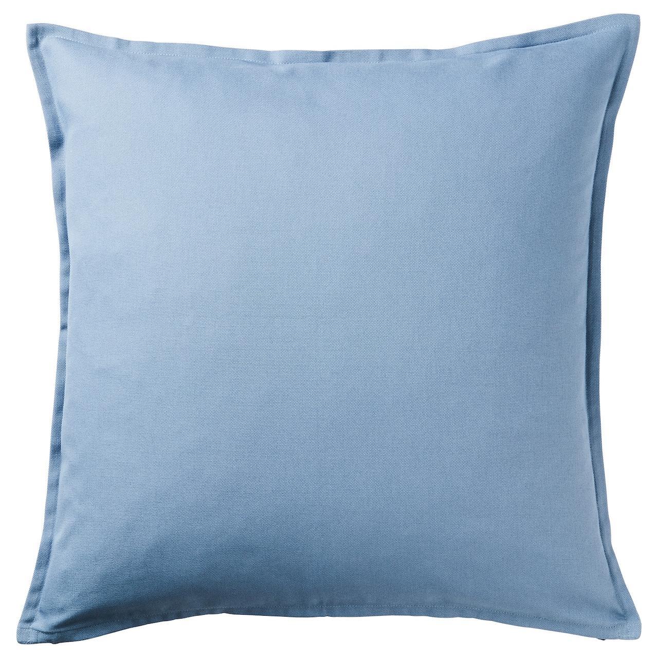 IKEA GURLI  Наволочка, голубой (504.334.16)