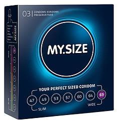 Презервативы Мой размер My size 69 мм 3 шт