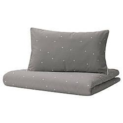 IKEA LENAST  Комплект детского постельного белья в горошек (604.889.36)
