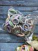 Резинка Калуш 4 см, 50 шт/уп пастель люрекс