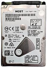 Жесткий диск HDD 200GB 5400rpm 8MB SATA III 2.5 Slim Hitachi Z5K500-200 HTS545020A7E680 AS3URNDJ