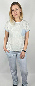Домашний костюм женский футболка и штаны 42-50 р