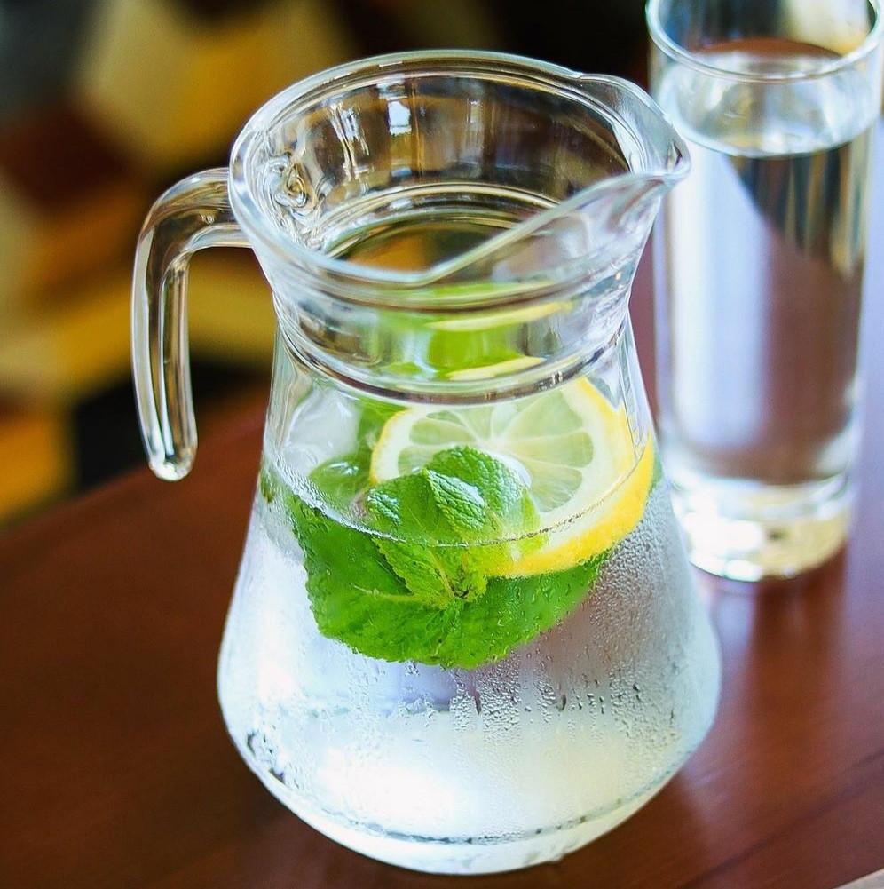 Глечик скляний без кришки Касабланка 1,2 л