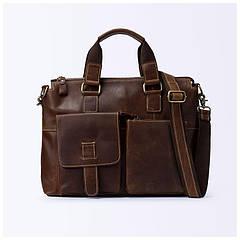 Мужской кожаный портфель