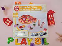 Деревянный набор Pizza Playtive 2+