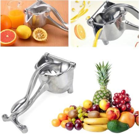 Соковижималка ручна для фруктів з затиском Hand Juicer. Універсальний прес для фруктів Хенд Джюсер