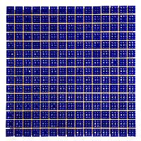 Мозаика стеклянная одноцветная Кобальт С63N(5)