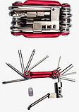 Велосипедный ключ (мультитул) 11 в 1, фото 3
