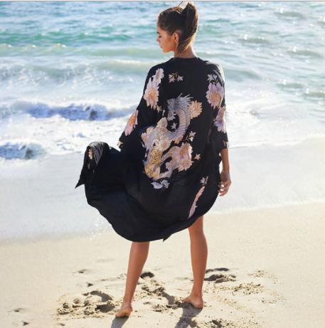 Парео для пляжа  You look like a girl from a fairy tale