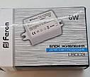 Блок живлення для світлодіодної стрічки 12V 6W IP20, фото 3