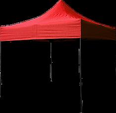 Шатер раздвижной гармошка, палатка, тент 3*6 м Красный павильйон, навес