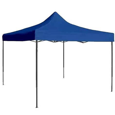 Шатер раздвижной гармошка, палатка, тент 3*4,5 м Синий павильйон, навес, фото 2