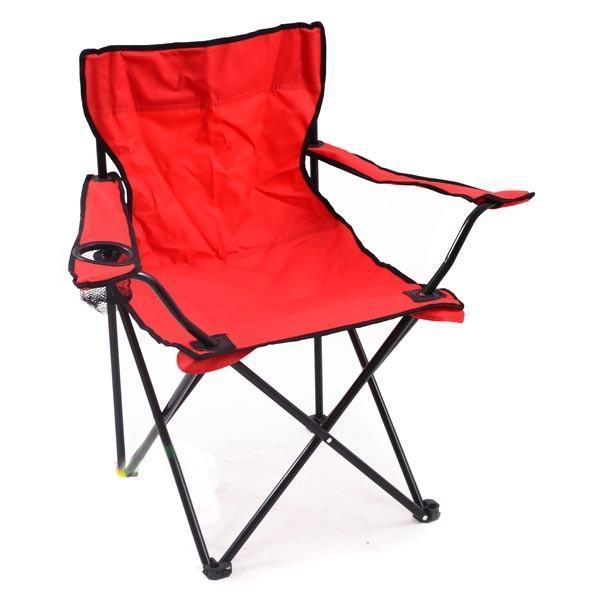 """Крісло доладне для пікніка та риболовлі """"Павук"""" Червоний"""