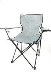 """Кресло складное для пикника и рыбалки """"Паук"""" Серый"""