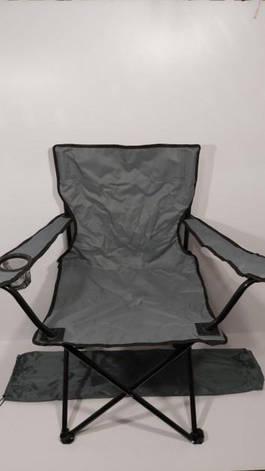 """Крісло доладне для пікніка та риболовлі """"Павук"""" Сірий, фото 2"""