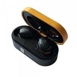 Вакуумные беспроводные сенсорные наушники вкладыши или затычки Bluetooth Buds Z7 TWS Черные