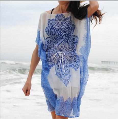 Пляжна накидка Lace of the clouds
