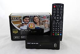 Цифровий ефірний ресивер DTV-T2 0967 з підтримкою wi-fi адаптер