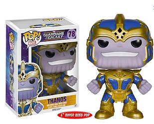 Фигурка Funko Pop Фанко Поп Стражи Галактики Танос Guardians of the Galaxy Thanos 15 см GG T 78