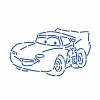 Тачки Молния Маквин трафарет для пряника 5,5*9 см (TR-2)