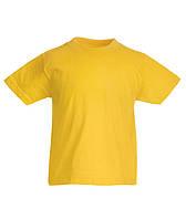 ФУТБОЛКА ДЕТСКАЯ KIDS VALUEWEIGHT T [Цвета и размеры в ассортименте] (Цвет Солнечно-желтый; Размер 3-4)