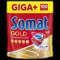 Таблетки для посудомоечной машины Somat Gold 100 таб