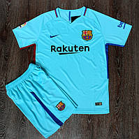 Футбольная форма Барселона выездная сезон 2017-2018