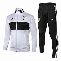 Спортивный костюм Ювентус/Juventus ( Италия, Серия А ), черно-белый, сезон 2018-2019 SU